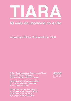 """Exposição """"TIARA 40 anos de Joalharia no Ar.Co"""""""