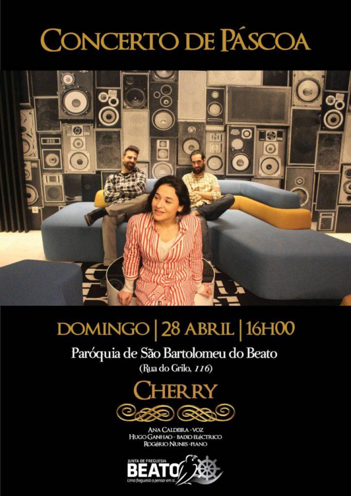 """Concerto de Páscoa  – """"CHERRY"""""""