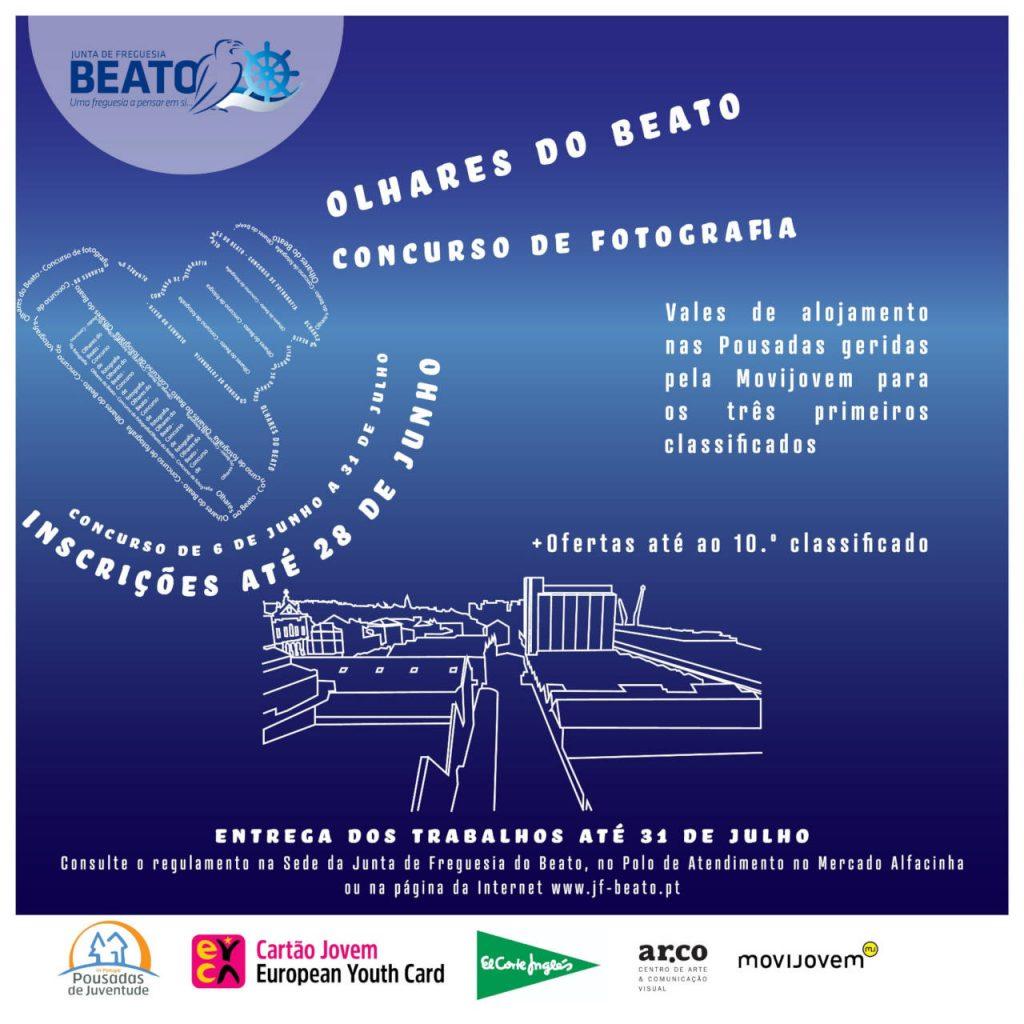 """Concurso de Fotografia """"Olhares do Beato"""""""