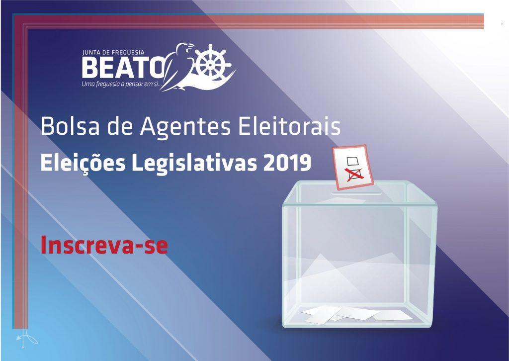 Bolsa de Agentes Eleitorais – Autárquicas 2019