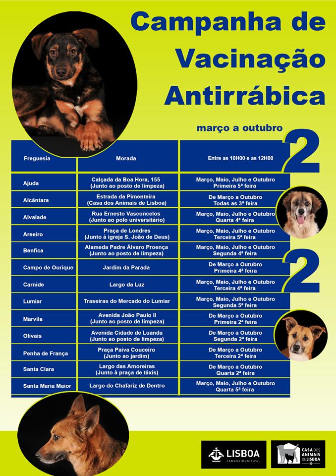Campanha de Vacinação Antirrábica 2020