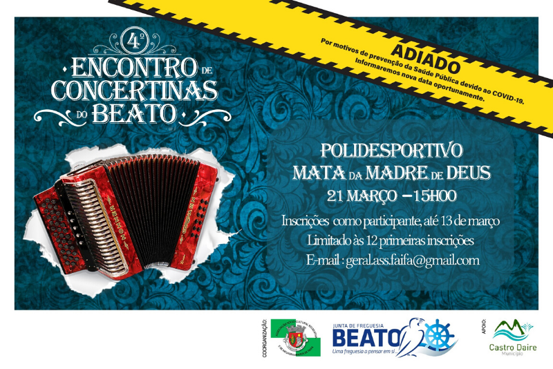 ADIADO – 4º Encontro de Concertinas do Beato