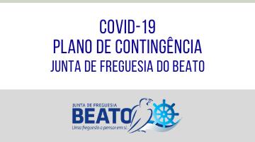 COVID-19 – Plano de Contingência da Junta de Freguesia do Beato