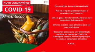 """DGS publica o manual """"Orientações na área da alimentação"""""""
