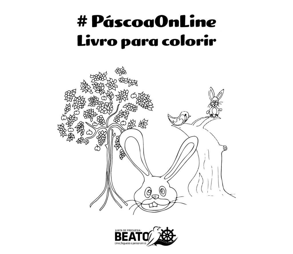 Páscoa Online – Livro para Colorir