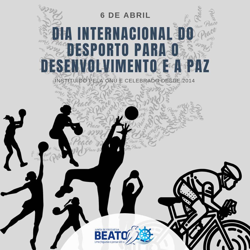 Dia Internacional do Desporto para o Desenvolvimento e a Paz – 6 de abril