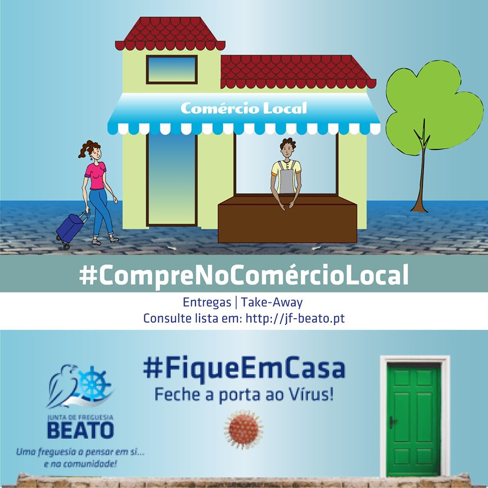 #CompreNoComercioLocal no Beato
