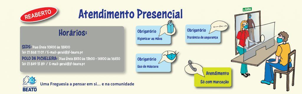 REABERTURA DE ATENDIMENTO PRESENCIAL