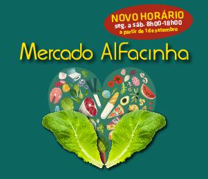 MERCADO ALFACINHA COM NOVO HORÁRIO