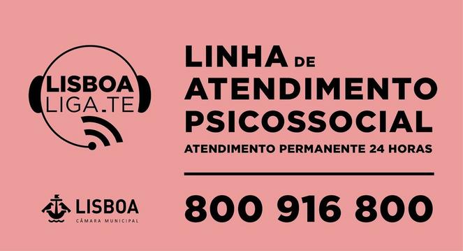 LISBOA LIGA-TE – Linha de Atendimento Psicossocial