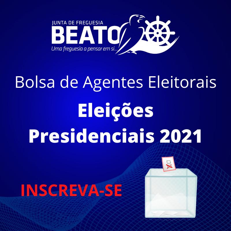 Bolsa de Agentes Eleitorais – Presidenciais 2021