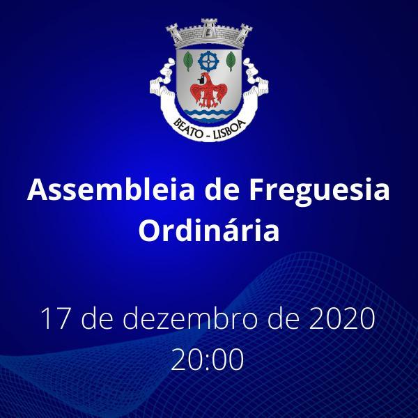 Assembleia de Freguesia Ordinária