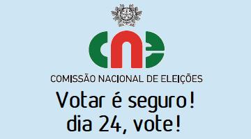 VOTAR É SEGURO! DIA 24 DE JANEIRO, VOTE!