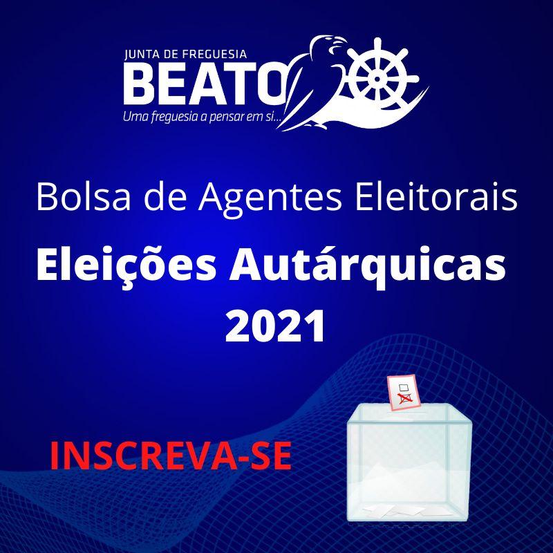 Bolsa de Agentes Eleitorais – Autárquicas 2021